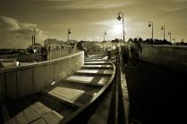 Лужков мост с другой стороны