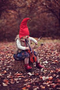 Осення музыка .