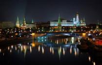 Вид на Кремль с Патриаршего моста..