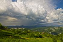 В горах города Сочи