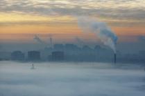 Зимнее утро на севере Петербурга