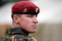 Краповый цвет Российского спецназа