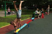 Дворовая гимнастика