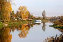 Осень на реке Тосна