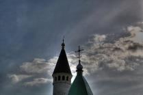Успенская церковь и Большой минарет