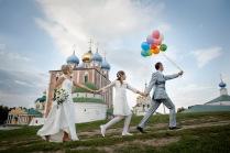 Свадьба в Рязани.