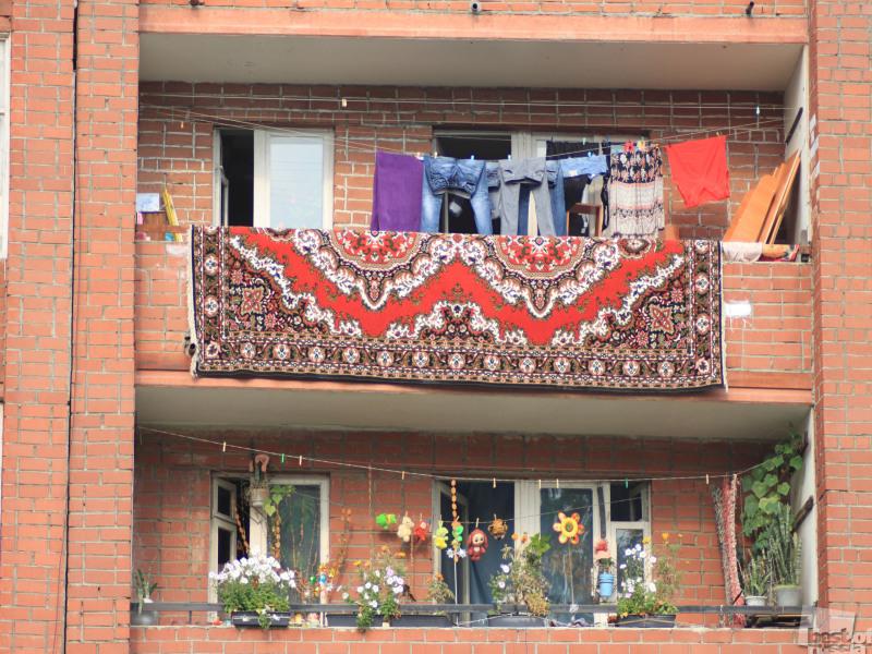 Повседневная жизнь балконов