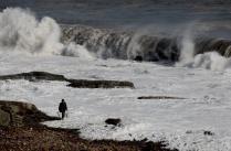 Мужик и море
