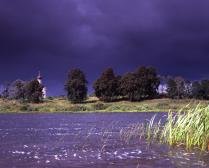 Озеро Брязло. Перед грозой.