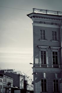 Плоский дом