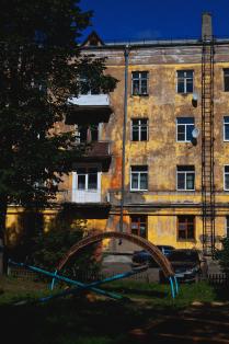 Загорелый дом