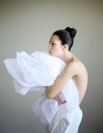 Съемка для журнала Instyle. Актриса Евгения Брик-Хиривская