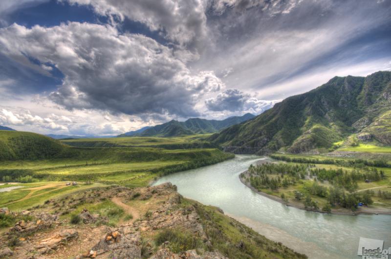 Встреча горных рек