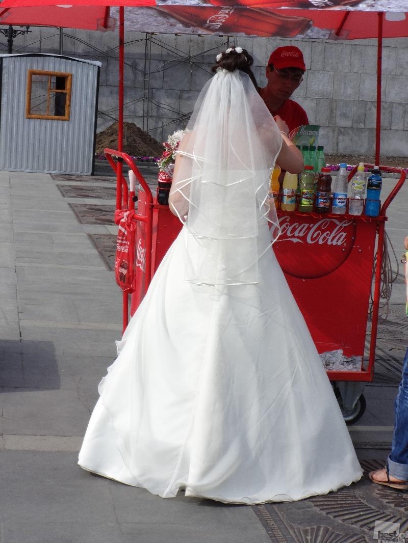 Заправка для невесты.