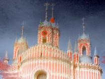 Чесменская церковь в отражении