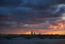 Типично Питерское небо