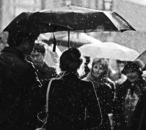 Дождик на Арбате