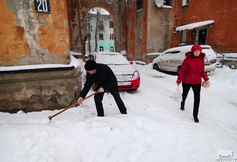Улица Мира. После снегопада.