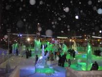 Снежинки на объективе