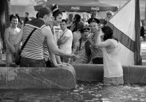 Русалка из фонтана