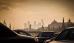 Smoggy Moscow Skyline