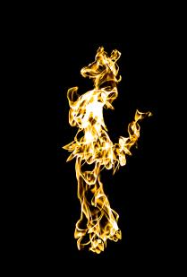 Танцующая в огне
