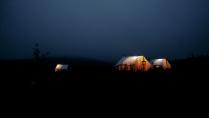 Полевой лагерь на Чукотке