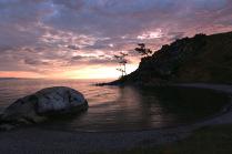 Восход на Ольхоне