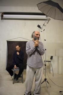Мастер-класс Георгия Колосова по студийному портрету.