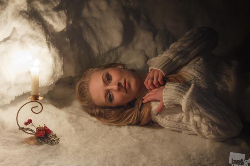 В покоях Снежной Королевы.