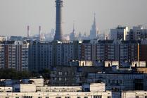 Московские дома и крыши