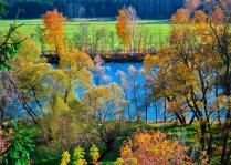 Осень в Архангельском.