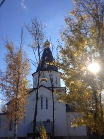 Храм  Ксении Блаженной Петербургской в Медвежьих озерах