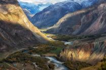 Долина реки Чулышман.