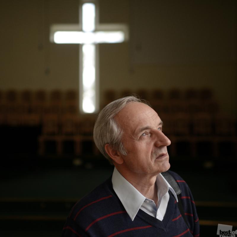 Протестантский пастор Владимир Обровец