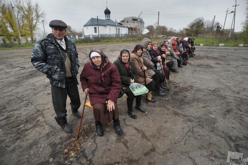 Жители села Нижнее Турово.