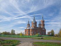 Церковь Михаила Архангела в пос. Мордово