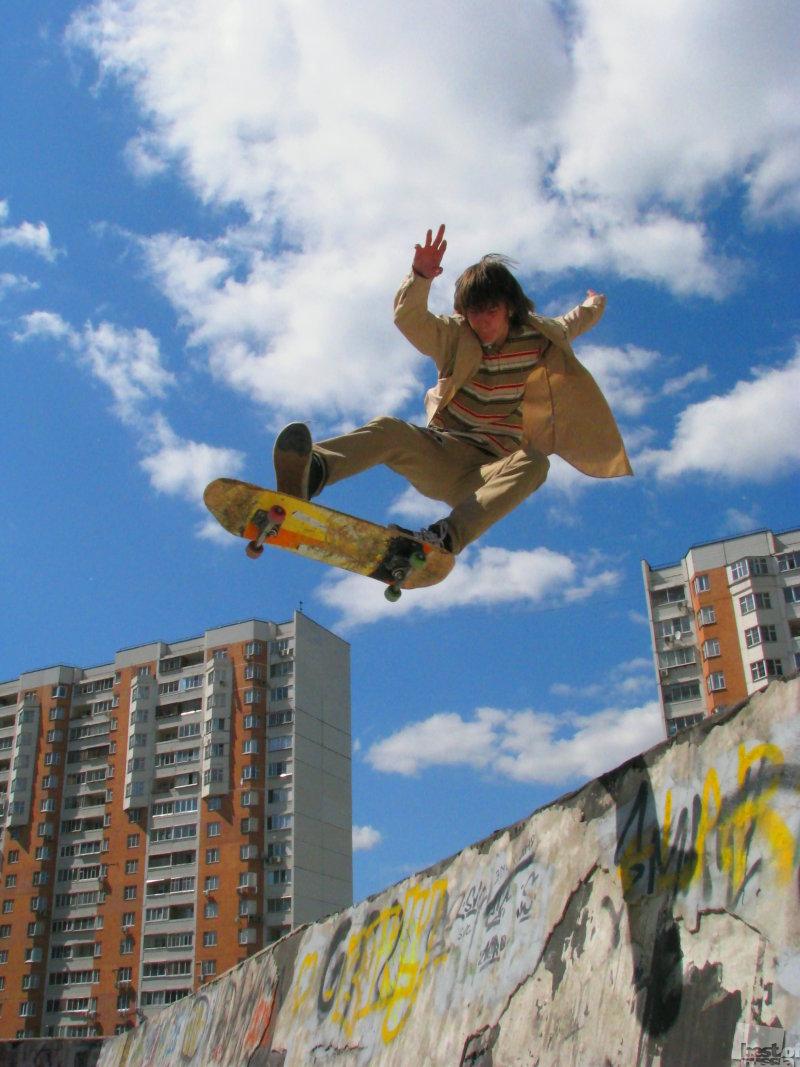 скейтбординг!
