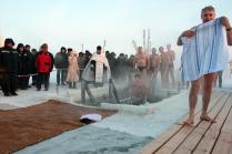 Крещение за полярным кругом