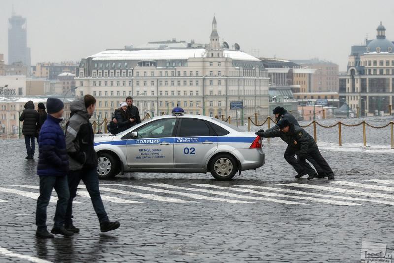 Суровые будни полиции