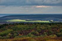 Вид с Гранного Уха, Ульяновская область