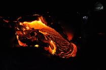 Ночная жизнь вулкана