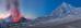 Извержение вулкана Толбачик.