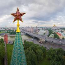 Кремль. Звезда Боровицкой башни.