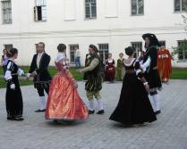 Танцы в день музеев.