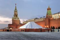 Красная площадь. Январь 2013 года