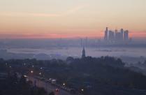 туман в Крылатском