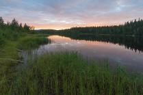 Карельский закат