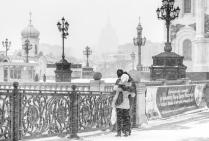 Влюбленным снежный шторм не страшен