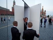 Служба безопасности на Красной площади